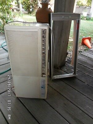Teco Window Air Conditioner & adjustable window frame curtain - fan only working