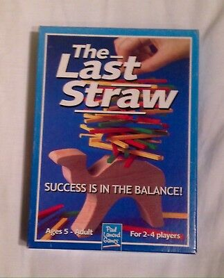 Paul Lamond - The Last Straw - Wooden Balance Game Traditional. Education