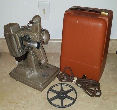 Revere Model 85 8mm Vintage Movie Projector, Works, In Great Conditions