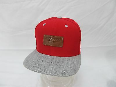 2016 Sram Since 1987 Leather Patch Red Gray Cycling Mtb Classic Baseball Hat Cap