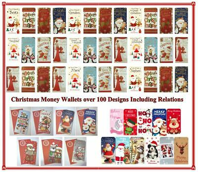 77 to pick Christmas Money Wallet Card Gift Voucher Traditional Contemporary Kid