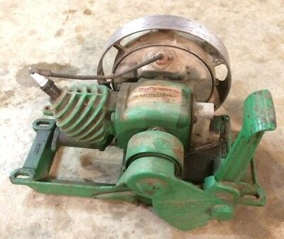 Great Running 1929 Maytag Model 92 Gas Engine Motor Hit And Miss Antique