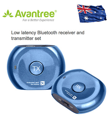 BLUETOOTH MUSIC RECEIVER adapter Double headphones low latency aptX