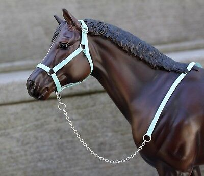 Traditional Sized Model Horse Halter & Lead
