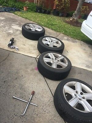 Ford BA XR6 Xr8 Wheels 17