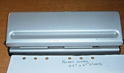 Franklin Pocket/Compact Planner 6-hole Punch