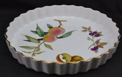 Royal Worcester Evesham Oven to Table Quiche Dish 10""