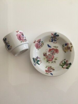 Westminster Australia China - Children's Bowl And Cup Set