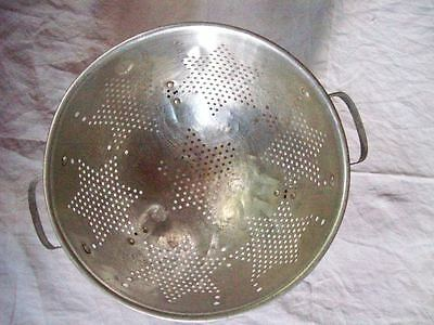 Vintage Aluminum Kitchen Tools ~ 7 Star Colander + Funnel & Jar Filler