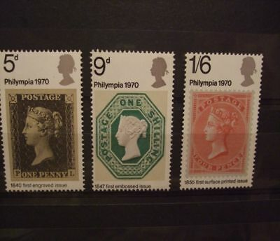 1970 - Gb Stamps - Philympia- Mnh