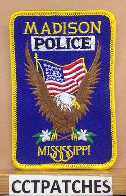 Madison, Mississippi Police Shoulder Patch Ms