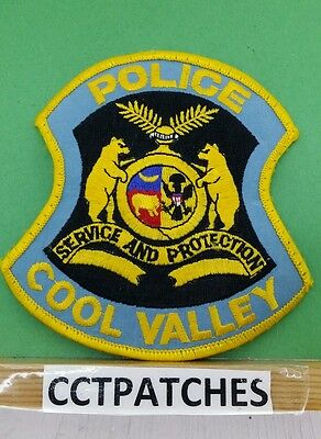 Cool Valley, Missouri Police Shoulder Patch Mo
