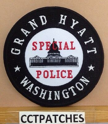 Grand Hyatt, Washington District Of Columbia Special Police Shoulder Patch Dc