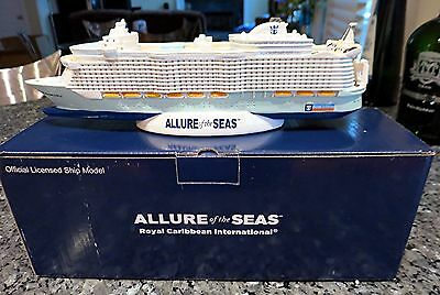 RCCL Royal Caribbean Cruise Line ALLURE OF THE SEAS Cruise Ship Model RCL