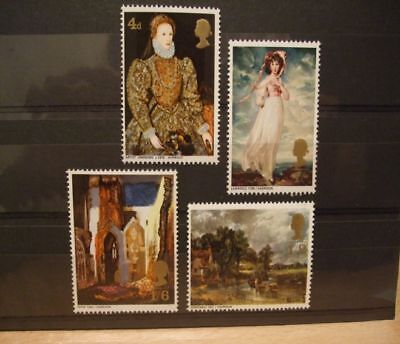 1968  Gb  British Paintings -- Mnh