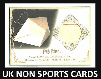 Harry Potter Memorable Moments Series 1 Prop Card Ci3 Letter From Sirius 028/050