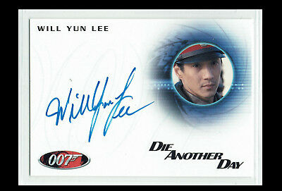 James Bond Heroes & Villains Autograph Card A142 Will Yun Lee as Colonel Moon