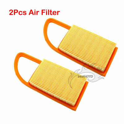 2x Air Filter For Stihl Blowers BR500 BR550 BR600 4282-141-0300 Backpack Blowers