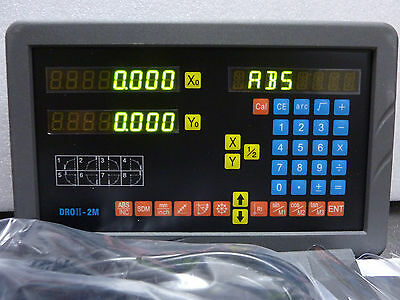 SINPO 2 axis DRO-2M Milling Mill DRO Digital ReadOut +2 Scale JCXE + shipping-US