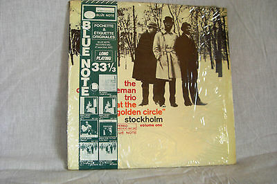 "THE ORNETTE COLEMAN TRIO  LP ""AT the Golden Circle"" Blue Note BST 84224"