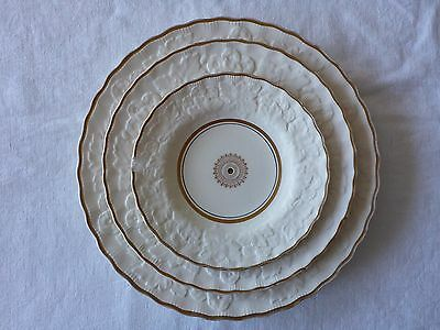Alfred Meakin England Gainsborough 3 X Cake Plate With Hole For Stand (No Stand)