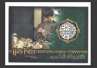 Harry Potter Sorcerer's Stone Prop Relic Card Wizard Candy #194/538