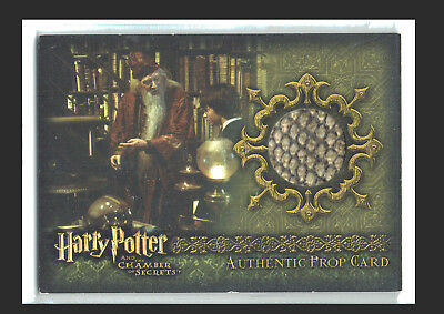 Harry Potter Chamber of Secrets Prop Card P3 Dumbledore's Office Books #237/290