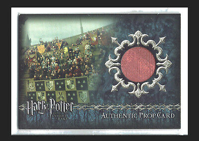 Harry Potter Goblet of Fire Update Prop Card P7 Stadium Banners #303/425 PINK