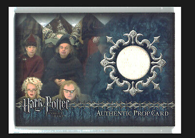 Harry Potter Goblet of Fire Prop Card P11 First Task Arena Canopy #117/290