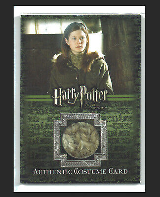 Harry Potter Order of the Phoenix Costume Card C5 Ginny Weasleys Jumper #132/660