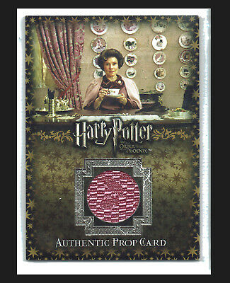 Harry Potter Order of the Phoenix Prop Card P11 Umbridge Office Curtains 024/350