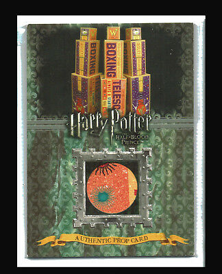 Harry Potter Half Blood Prince Prop Card Ci2 Boxing Telescope Boxes #063/220