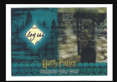 World of Harry Potter in 3D Ser 1 Prop Card P9 Trial Chamber Paperwork #044/175