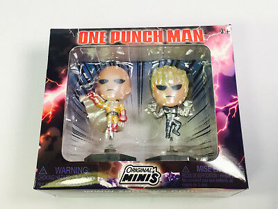 ONE-PUNCH MAN Figure Saitama + Genos 2-Pack ACTION COMEDY Loot Anime Crate