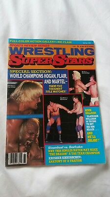 Wrestling Superstars Magazine Spring 1986.