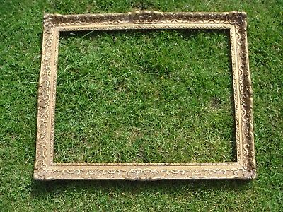 2Nd Vintage Baroque Rococo Style Large Picture Photo Frame Gold Gilt Wedding