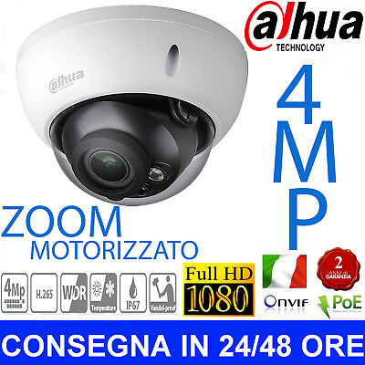 DaHua ip Camera POE 4MP HD IPC-HDW4431R-ZS 2.7-12 mm IR Mini Dome  Telecamera