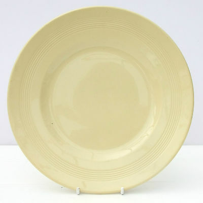 Vintage Woods Ware Jasmine Yellow Salad Dinner Plate