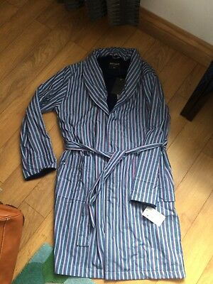 Men's Duchamp Dressing Gown BNWT Size S/M