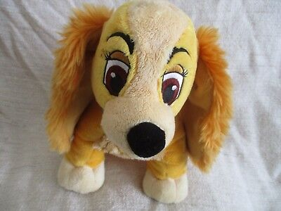 LADY AND THE TRAMP - beanie bean plush soft toy VGC Disney Store
