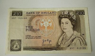 Vintage ten pounds England