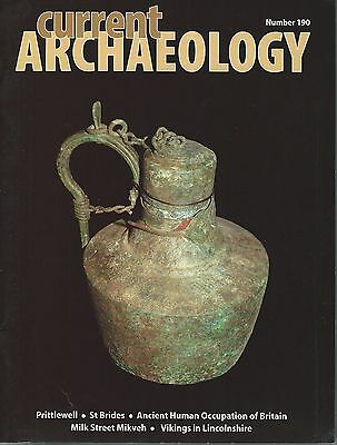 Current Archaeology Magazine no. 190