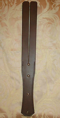 SALE!!! Real Leather Deep Brown Paddle Tawse