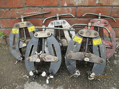 """PIPE WELDING CLAMP  Sumner 781150 2"""" to 6"""" Ultra Clamp"""