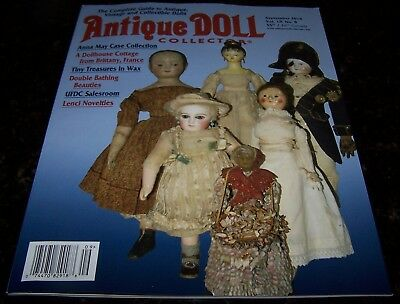 Antique Doll Collector September 2016 - As New