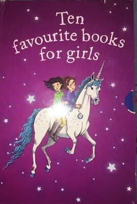 Rare Collection Book Set 10 Ten Favourite For Girls Boxed Bundle rrp £47
