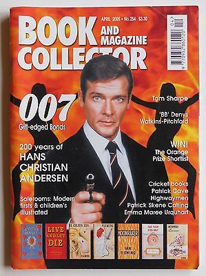 BOOK & MAGAZINE COLLECTOR #254 - 4/2005 - Ian Fleming, Tom Sharpe