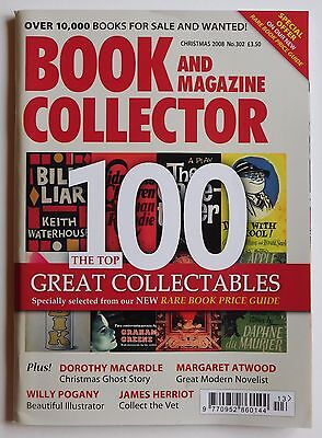 BOOK & MAGAZINE COLLECTOR #302 - Christmas 2008 - Margaret Atwood, Herriot