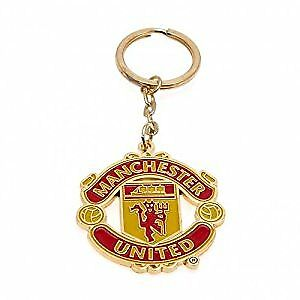 Manchester United FC Official Football Gift Keyring