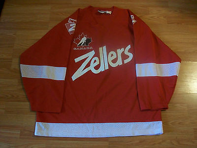 RARE Zellers Team CANADA Hockey Jersey NEVER WORN Adult Large #30